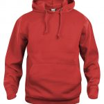 Basic Hoody - Rouge