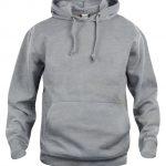 Basic Hoody - 95 Gris Mélangé